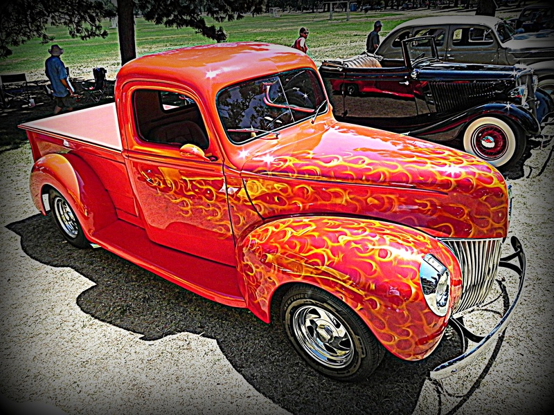 Flaming Ford